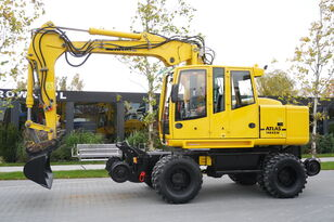 excavator pe roţi ATLAS Road-rail excavator Atlas 1404ZW