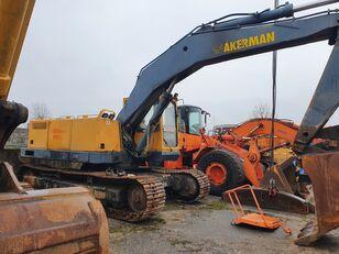 excavator pe şenile AKERMAN H14LC în bucăți