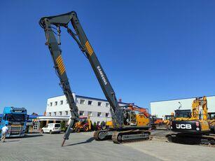 excavator pentru demolări SAMSUNG-VOLVO SE 450 LC3 / DEMOLITION HAMMER3 GRIPPERS / 1 NEW / LOW HOURS / V