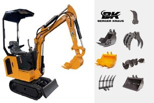 miniexcavator BERGER KRAUS Mini Excavator BK800BS torsion arm with FULL equipment nou