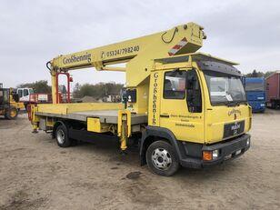 nacelă pe camion MAN L200 Anton Rutmann T310 (31m GERMANY) 200 кг Свіжа!