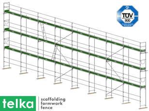 schele Telka NEUER Gerüst stahl UNICO 73 baumann type SET 205 m2 nou