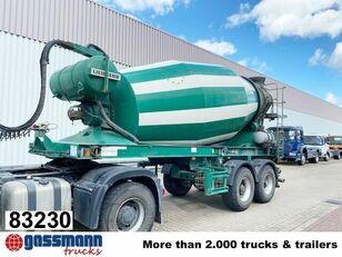 semiremorcă betoniera LIEBHERR  10m³  Betonmischer ca