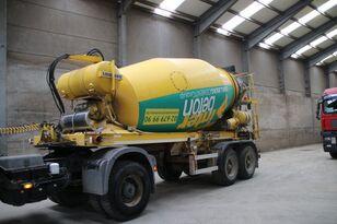 semiremorcă betoniera LIEBHERR BETON MIXER HTM 1004 ZA - 10 M³