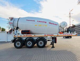 semiremorcă betoniera SCHWARZMÜLLER TTC-Fulda Betonmischer Auflieger mit Motor  NEU
