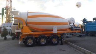 semiremorcă betoniera SEMIX nou