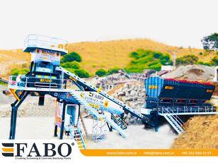 staţie de beton FABO MIX COMPACT-110 CONCRETE PLANT | CONVEYOR TYPE nou