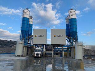 staţie de beton FABO POWERMIX-200 STATIONARY CONCRETE BATCHING PLANT nou