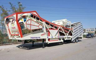 staţie de beton MESAS 100 m3/h MOBILE Concrete Batchıng Plant nou