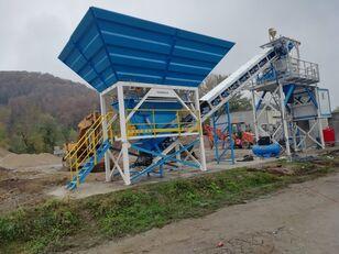 staţie de beton PROMAX Compact Concrete Batching Plant C60-SNG-PLUS (60m3/h) nou