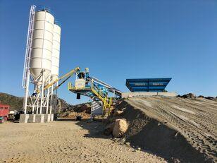 staţie de beton PROMAX Mobile Concrete Batching Plant PROMAX M60-SNG(60m³/h) nou