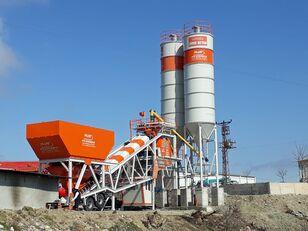 staţie de beton Plusmix 100 m³/hour Mobile Concrete Batching Plant - BETONYY ZAVOD - CEN nou